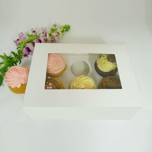 6 Cupcake Window Box($2.00/pc x 25 units)
