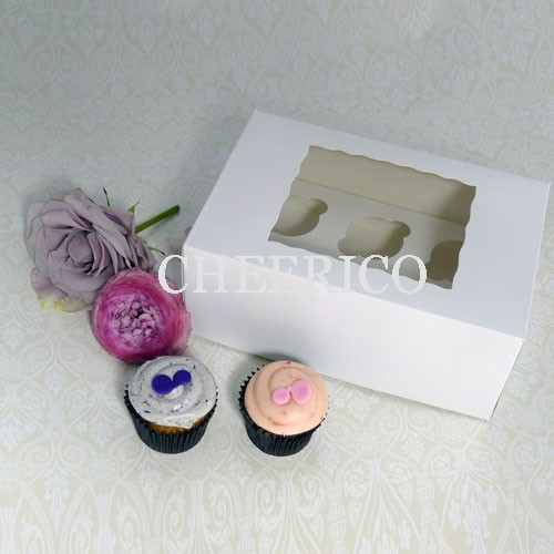 6 Window MIni Cupcake Box ($1.85/pc x 25 units)