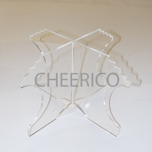 Clear Acrylic (Perspex) Support Riser for Macaron Tower
