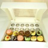 24 Window Cupcake Box ($4.80pc x 25 Units)