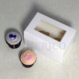 2 Cupcake Window Box($1.70/pc x 25 units)
