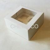 4 Cupcake Window Box ( $2.00/pc x 25 units)